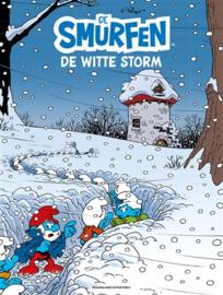 PRE-order - Smurfen - De smurfen en de witte storm -  deel 40 - sc - NIEUW!