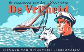 Kapitein Rob - Deel 1 - De avonturen van het zeilschip de Vrijheid - hc (oblong) - 1ste druk heruitgave -2021 - Nieuw!
