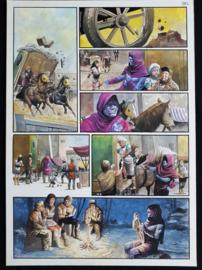 Apriyadi Kusbiantoro - originele pagina in kleur - de verloren verhalen van Lemuria - deel 3 - pagina 5 - 2017