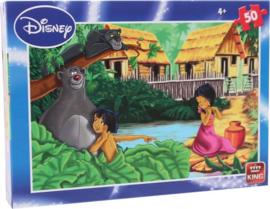 Legpuzzel - Disney - Junglebook - 50 stukjes - +4jaar  - 2018