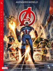 Marvel New Avengers - Journey Infinity -  deel 3 Avengerswereld  - sc - 2020 - NIEUW!