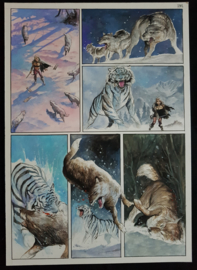 Apriyadi Kusbiantoro - originele pagina in kleur - Saul - deel 1 - de levende mantel - pagina 14 - 2017