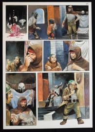 Apriyadi Kusbiantoro - originele pagina in kleur - Saul - deel 1 - de levende mantel - pagina 18 - 2017