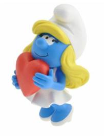 Smurfin met hart   - Plastoy  - 2019