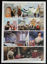 Apriyadi Kusbiantoro - originele pagina in kleur - Saul - deel 1 - de levende mantel - pagina 8 - 2017