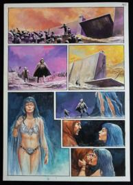 Apriyadi Kusbiantoro - originele pagina in kleur - Saul - deel 1 - de levende mantel - pagina 37 - 2018