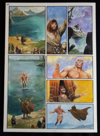 Apriyadi Kusbiantoro - originele pagina in kleur - Saul - deel 1 - de levende mantel - pagina 42 - 2018