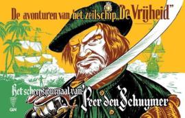 Kapitein Rob - Deel 2 - Het scheepsjournaal van Peer den Schuymer - hc (oblong) - 1ste druk heruitgave -2021 - Nieuw!