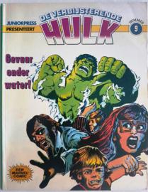 Hulk The  - Gevaar onder water! -   deel 9 - sc - 1980