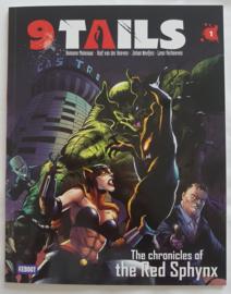 9 Tails - Deel 1 - De kronieken van de rode Sphynx - met artprint - Engels - sc - 2021 - Nieuw!