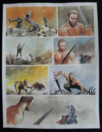 Apriyadi Kusbiantoro - originele pagina in kleur - Saul - deel 2 - Eindstation - pagina 36 - 2019