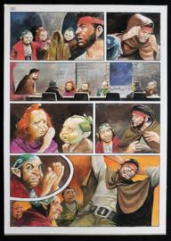 Apriyadi Kusbiantoro - originele pagina in kleur - Saul - deel 1 - de levende mantel - pagina 9 - 2017