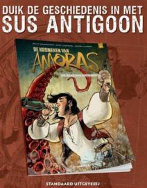 PRE-order - Amoras - De Kronieken - De zaak Sus Antigoon - deel 9 - sc - 2021 - NIEUW!