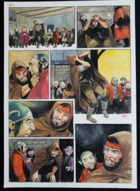 Apriyadi Kusbiantoro - originele pagina in kleur - Saul - deel 1 - de levende mantel - pagina 10 - 2017