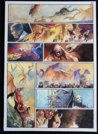 Apriyadi Kusbiantoro - originele pagina in kleur - de verloren verhalen van Lemuria - deel 3  - pagina 7 - 2017
