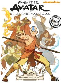 Avatar - de Legende van Aang - Cyclus 1 - De belofte - Collectors Pack - delen 1 t/m 3 - sc - 2013/2014