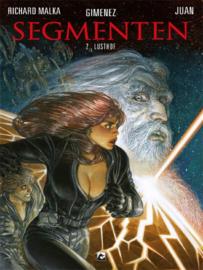Segmenten - Lusthof - deel 2 - sc - Science Fiction - 2020 - NIEUW!