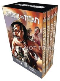 Attack on Titan - Manga Boxset - Season 2 part 1 - volumes 9 tm 12 - sc - 2018