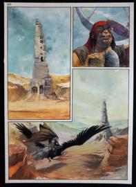 Apriyadi Kusbiantoro - originele pagina in kleur - Saul - deel 1 - de levende mantel - pagina 23 - 2017
