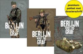 PRE-order - Berlijn wordt ons graf - Delen 1 en 2 + extra dossier  - 3x hc - 2020 - NIEUW!