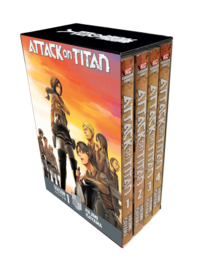 Attack on Titan - Manga Boxset - Season 1 part 1 - sc - 2018