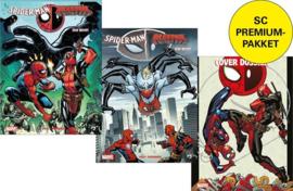 PRE-order - Spider-man vs Deadpool -  Itsy Bitsy Premium Pack delen 3 en 4 + illustratiealbum  - sc - 2021 - NIEUW!