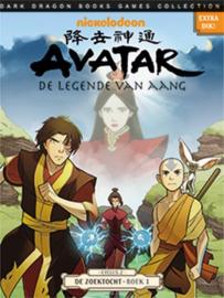 Avatar - de Legende van Aang - Cyclus 2 - De zoektocht - Collectors Pack - delen 1 t/m 3 - sc - 2014/2015