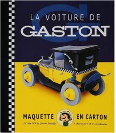 Collectible car model Fiat 500 - Gaston - maquette Karton - 2000