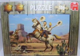 Legpuzzel B -  Suske en Wiske - Texasrakkers  -  +7 jaar - 100 stukjes