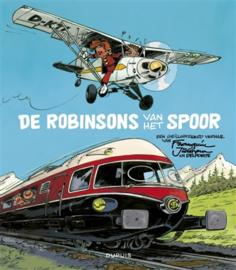 De Robinsons van het Spoor - Franquin - geïllustreerd leesboek - hc - 2013