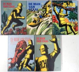 Archie, de man van Staal - Bijna complete reeks - delen 1 t/m 5 - hardcover - 2018 / 2020 - NIEUW!