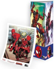 Spider-man vs Deadpool - delen 1 & 2 Premium pack (met totem en artprint)  - sc - 2021 - NIEUW!