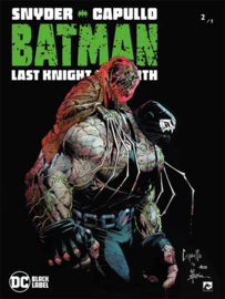 Batman last knight on earth - deel 2/3  - DC Blacklabel - sc - 2021