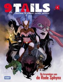 9 Tails - Deel 1 - De kronieken van de rode Sphynx - hc - 2021 - NIEUW!