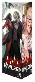 Harleen / Harley Quinn - Collectorspack - Delen 1 en 2 met totem en artprint - Marvel - sc - 2021 - Nieuw!