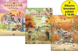 Celestine en de paarden  - Promo-voordeelpakket 3 albums - sc - 2021