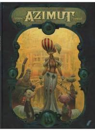 Azimut - deel 1 - Avonturiers van de verloren tijd  - hardcover - 2013