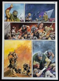Apriyadi Kusbiantoro - originele pagina in kleur - Saul - deel 1 - de levende mantel - pagina 34 - 2018