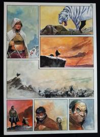 Apriyadi Kusbiantoro - originele pagina in kleur - Saul - deel 1 - de levende mantel - pagina 29 - 2018