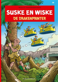 PRE-order - Suske en Wiske - De Drakenprinter - deel 358 - sc - 2021 - NIEUW!