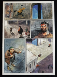 Apriyadi Kusbiantoro - originele pagina in kleur - Saul - deel 1 - de levende mantel - pagina 21 - 2017