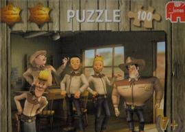 Legpuzzel C -  Suske en Wiske - Texasrakkers  -  +7 jaar - 100 stukjes