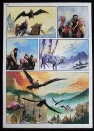 Apriyadi Kusbiantoro - originele pagina in kleur - Saul - deel 1 - de levende mantel - pagina 7 - 2017