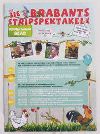 Programmablad  Het 31e Brabants stripspektakel - 2016