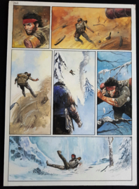 Apriyadi Kusbiantoro - originele pagina in kleur - Saul - deel 1 - de levende mantel - pagina 2 - 2017