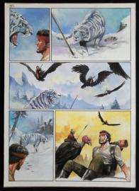Apriyadi Kusbiantoro - originele pagina in kleur - Saul - deel 1 - de levende mantel - pagina 6 - 2017