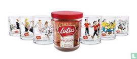 Suske en Wiske  glazen - set a 6 stuks - Lotus Bakeries - serie Speculoos - 2017