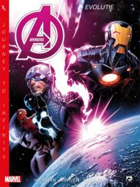 PRE-order - Marvel New Avengers - Journey Infinity -  deel 5 Evolutie  - sc - 2021 - NIEUW!