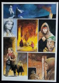 Apriyadi Kusbiantoro - originele pagina in kleur - Saul - deel 1 - de levende mantel - pagina 41 - 2018