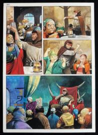 Apriyadi Kusbiantoro - originele pagina in kleur - Saul - deel 1 - de levende mantel - pagina 11 - 2017